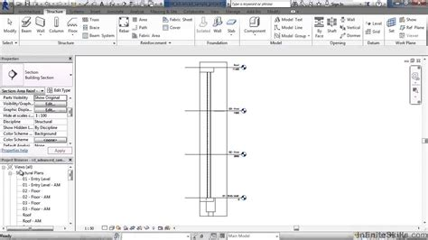 tutorial revit 2015 revit structure 2015 tutorial working with views youtube