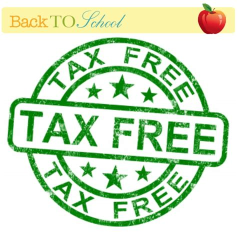 shop maryland tax free week august 14th through august