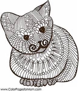 animals 6 advanced coloring pages
