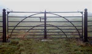 Anderson iron works hand made gates in co monaghan cavan