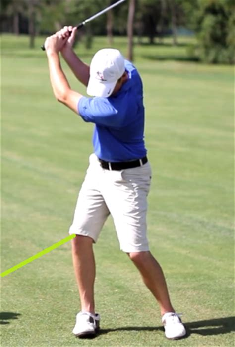 hips first golf swing how your right knee has always been the problem in your