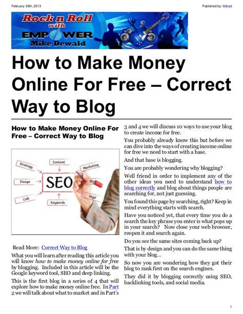 cafeshared how to create a blog how to make money online for free correct way to blog