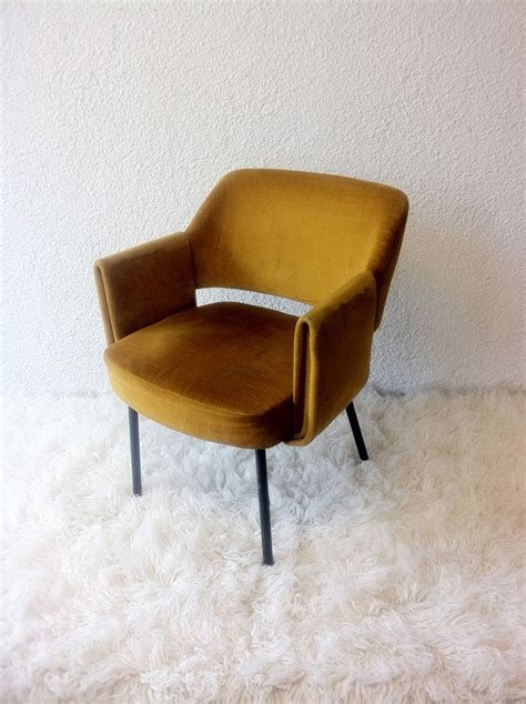 yellow velvet armchair upholstered armchair with original yellow velvet chairs