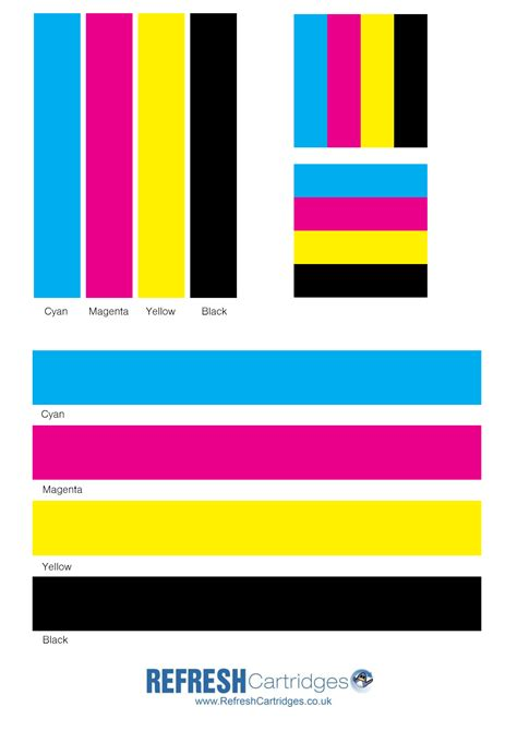 Colour Laser Printer Test Page Laser Printer Color Test Page