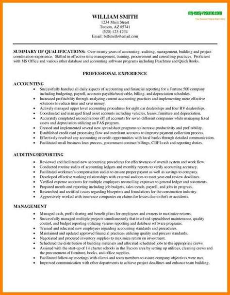 Sle Resume Accountant Doc Best Resumes For Accounting 28 Images Professional Retail Accountant Templates To Showcase