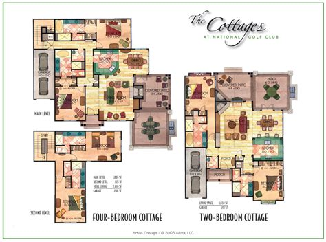 large bungalow floor plans cottage floor plans storybook home plansold world styling