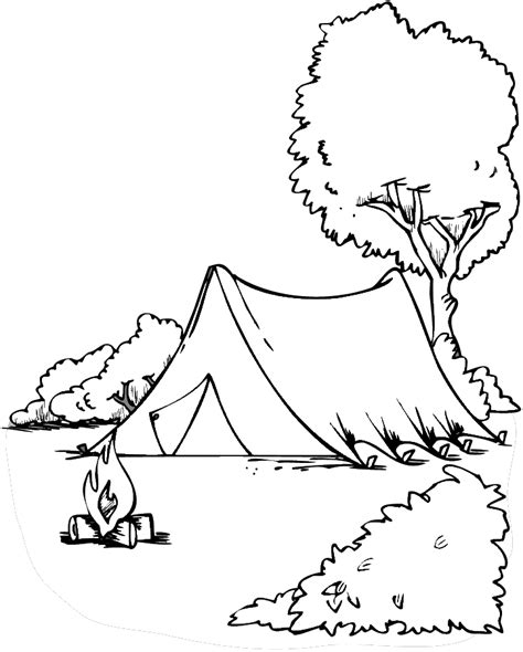 Outdoor Recreation Coloring Pages Colour Book Printing