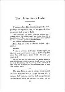 Hammurabi Essay by Hammurabi Code Essay