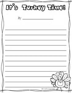 Thanksgiving Writing Paper Template Literacy Centers Freebie And A Giveaway Oh My