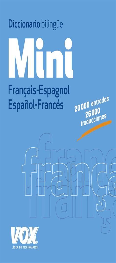 libro diccionario mini visual francs espaol libros francs librera idiomatika