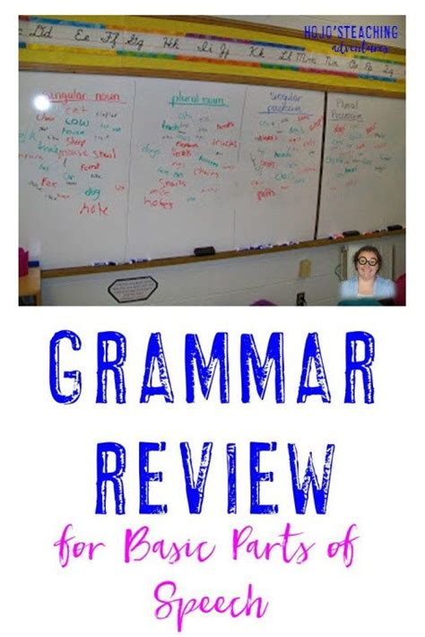 students basic grammar of student grammar games and parts of speech on