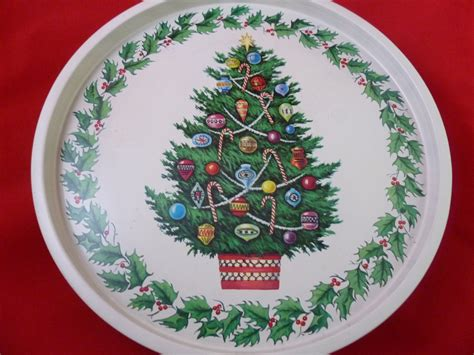 bq half price christmas trees sale half price sale classic metal tree serving tray with wide border haute juice