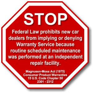 new car warranty laws the new car warranty myth einstein s oilery