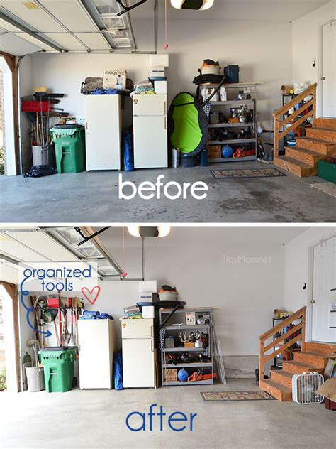 small garage organization garage organization