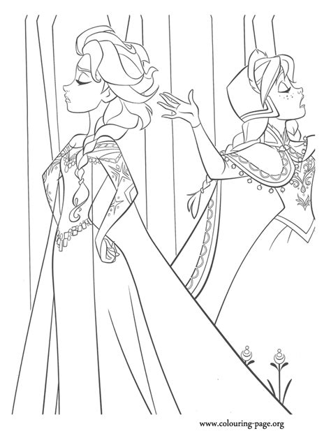 frozen coloring pages big free frozen elsa drawing coloring pages