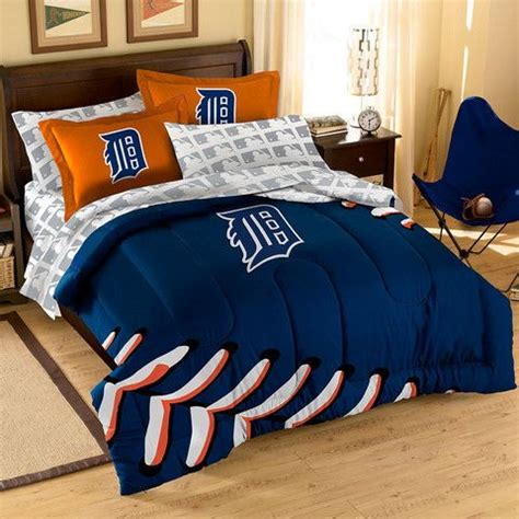 detroit tigers bedding detroit tigers mlb bed in a bag contrast series full