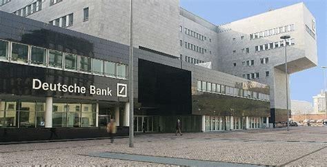 deutsche bank kurse märkte niedrigzinsen belasten firmenkundengesch 228 ft der