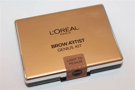 Loreal Eyebrow l oreal brow artist genius kit review really ree