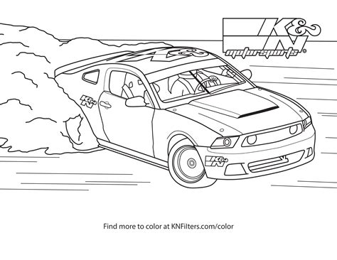 drifting car coloring page drift car coloring pages
