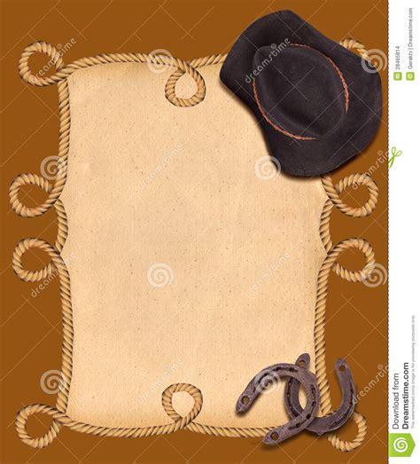 imagenes vaqueras para editar fondo occidental con el sombrero y las herraduras de