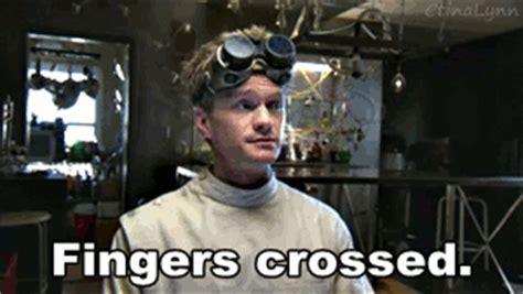 Fingers Crossed Meme - neil patrick harris animated gif