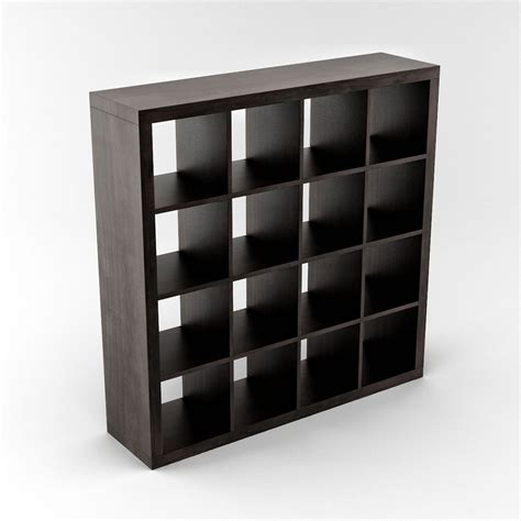Expedit Shelf by Expedit Shelving Unit 04 3d Model Max Cgtrader