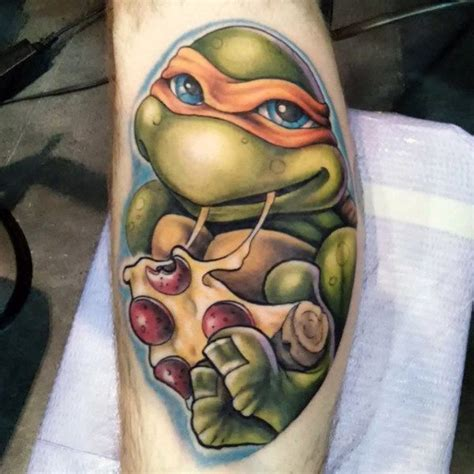ninja turtle tattoos 70 mutant turtle designs for
