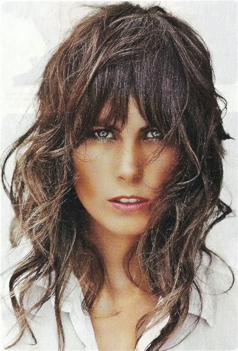 modern shaggy haircuts 2015 long mess layered hair sassy long length layered shag