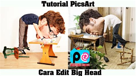 tutorial edit foto di picsart tutorial picsart cara edit foto kepala besar big head di