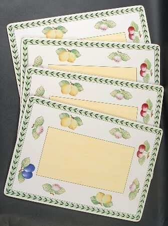 Villeroy And Boch Garden Cork Placemats by Villeroy Boch Garden Fleurence Corkboard Placemat