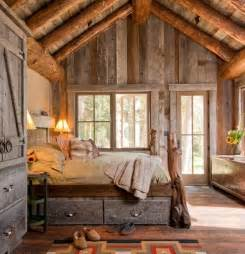 Home And Cabin Decor 45 Cozy Rustic Bedroom Design Ideas Digsdigs