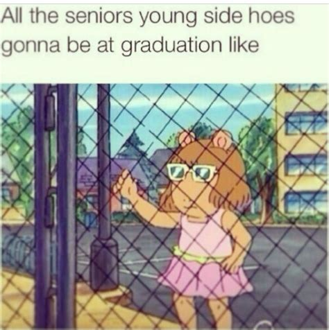Dw Meme - lol when seniors graduate and their young gfs are left