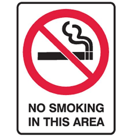 no smoking sign arabic no smoking in this area ultra tuff signs