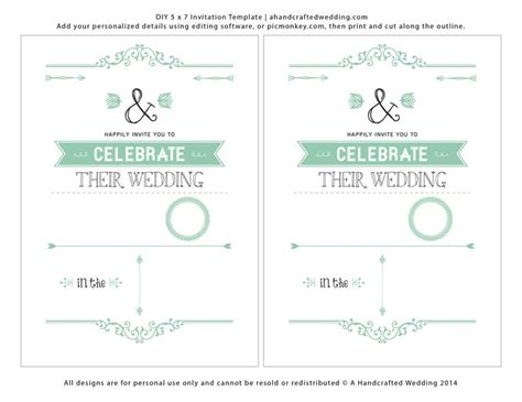 free printable blank wedding invitation templates 1000 ideas about blank wedding invitations on