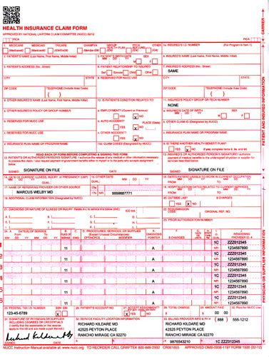 Cms 1500 Forms Court Motion Order Forms Cms Emergency Preparedness Communication Plan Template