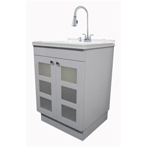 white utility sink with cabinet utility laundry sink with cabinet roselawnlutheran