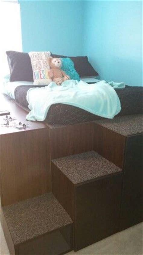 ikea hack platform bed with storage best 25 ikea storage bed ideas on pinterest ikea