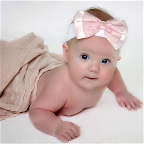 baby headbands baby headband pink silver white baby pink white christening headband with large