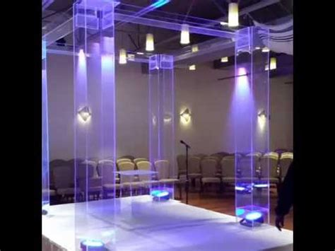 Wedding Arch Rental New Jersey by Lucite Chuppah Rental Acrylic Chuppah Rental New York