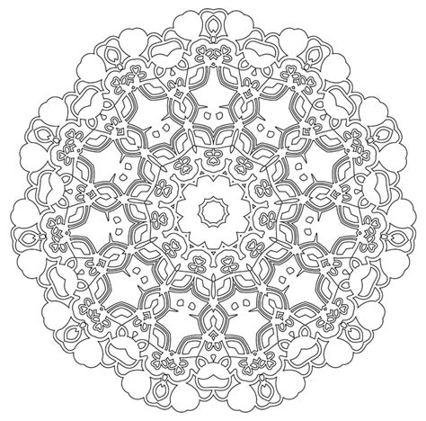 Mandala 32 Coloring Pages The Awesome Mandala Coloring Pages
