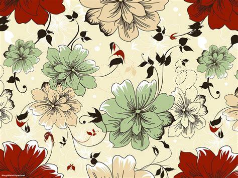 batik flower pattern background  powerpoint blog