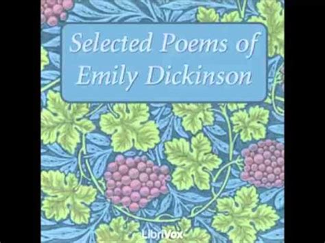 witness the selected poems 1935210319 selected poems of emily dickinson by emily dickinson youtube