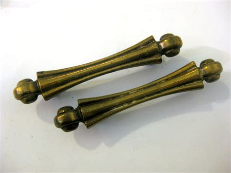 Deco Drawer Pulls by Lot Of 2 Vintage Deco Drawer Pulls 3 Centers By Fairyhome