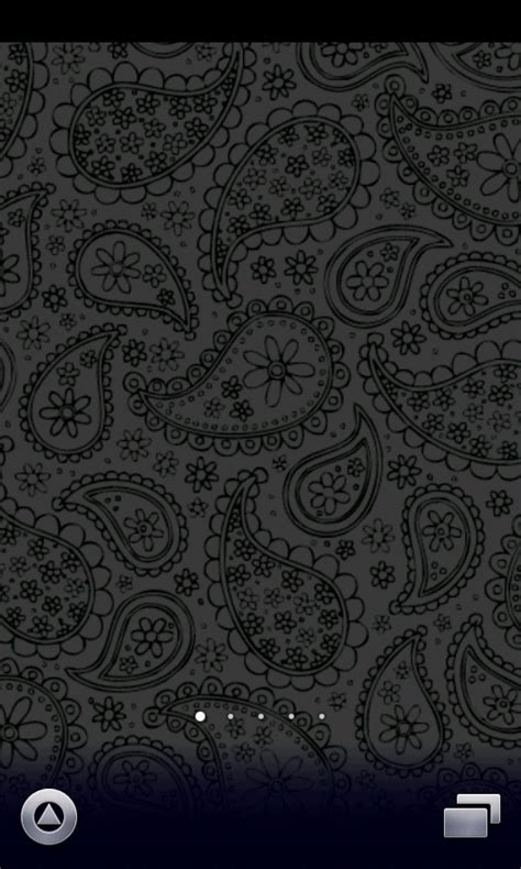 black paisley wallpaper amazoncouk appstore  android
