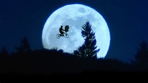 E T Bike Ride by Moonlight Bike Ride E T The Terrestrial