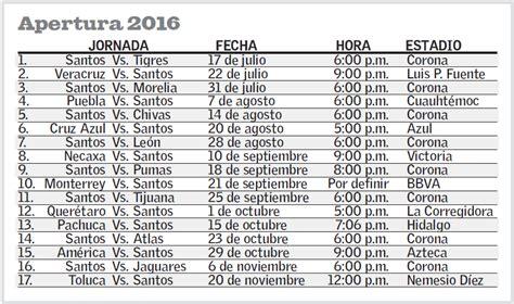 Calendario Santos Laguna Santos Laguna Comenzar 225 El Torneo Apertura Con La Visita