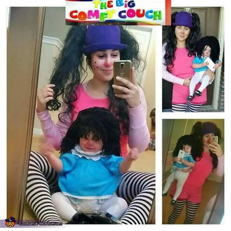 comfy couch molly loonette the clown and molly dolly costume photo 3 3