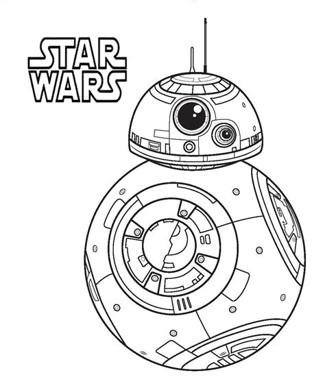star wars bb 8 coloring pages star wars bb8 coloring pages adult coloring pages