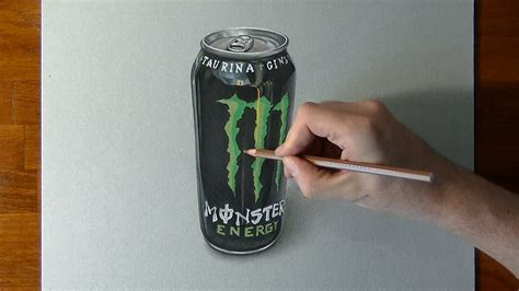 energy drink drawing how to draw a energy drink can