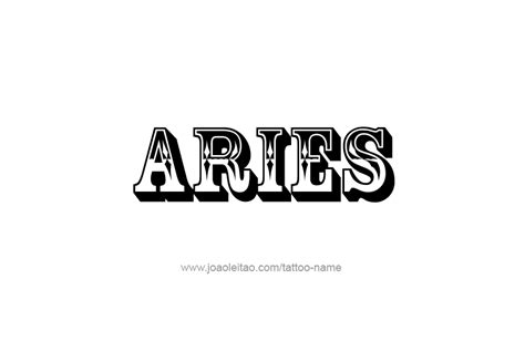 aries name aries horoscope name designs page 5 of 5